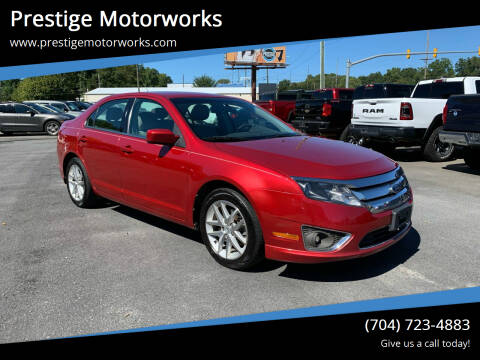 2011 Ford Fusion for sale at Prestige Motorworks in Concord NC