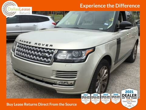 2014 Land Rover Range Rover for sale at Dallas Auto Finance in Dallas TX