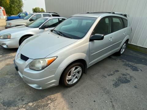 2004 Pontiac Vibe for sale at Hill Motors in Ortonville MN