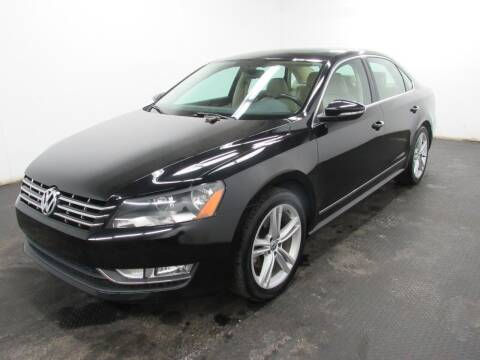2012 Volkswagen Passat for sale at Automotive Connection in Fairfield OH
