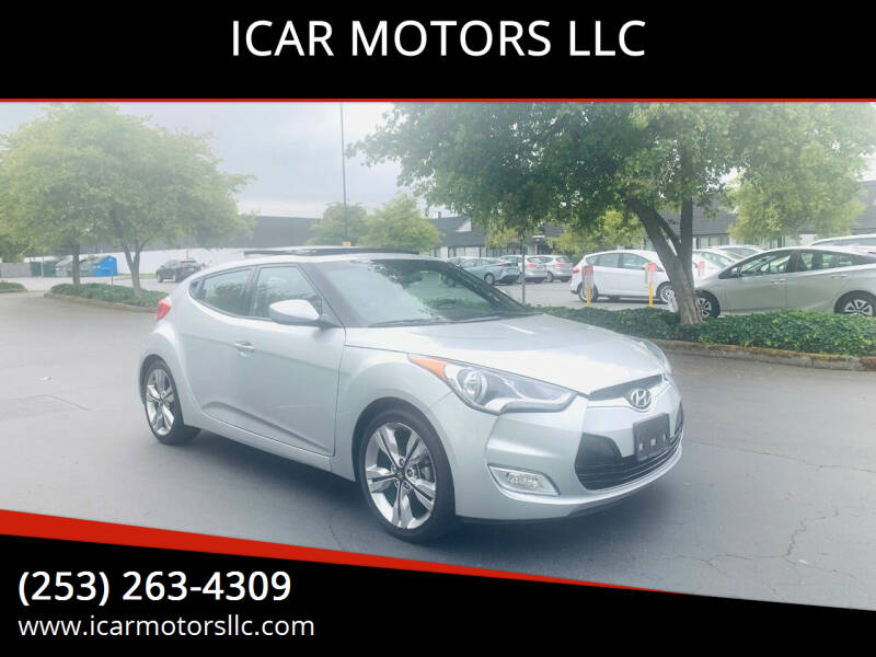2016 Hyundai Veloster for sale at ICAR MOTORS LLC in Federal Way WA