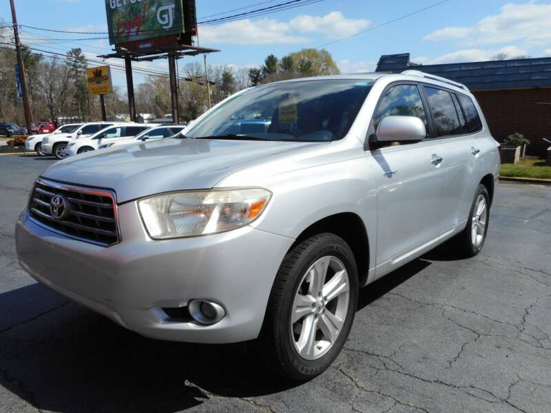 2008 Toyota Highlander for sale at Super Sports & Imports in Jonesville NC
