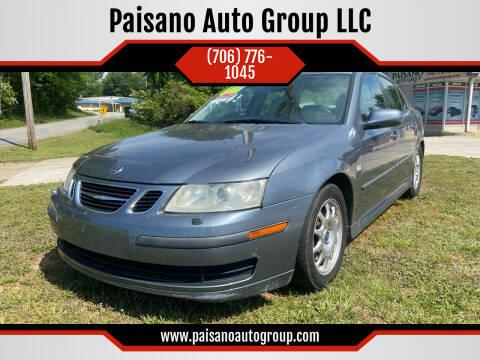 2007 Saab 9-3 for sale at Paisano Auto Group LLC in Cornelia GA