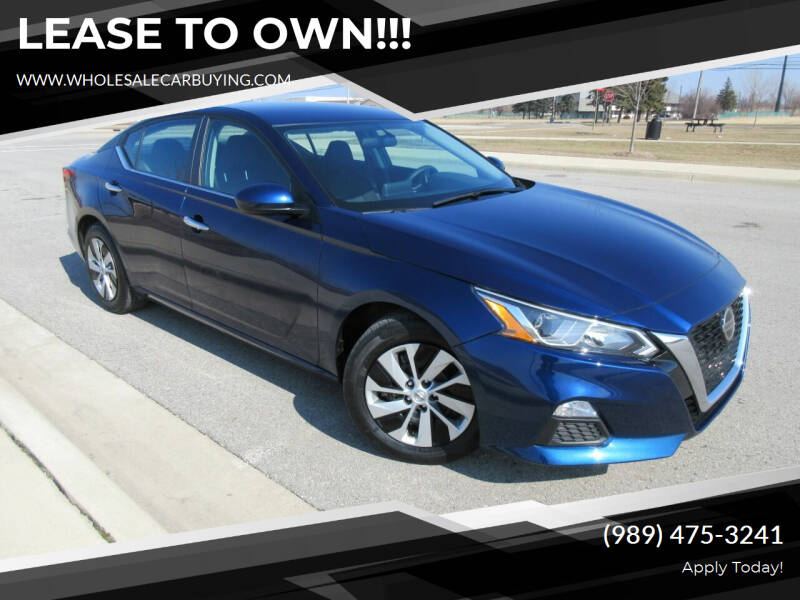 2019 Nissan Altima for sale at Wholesale Car Buying in Saginaw MI