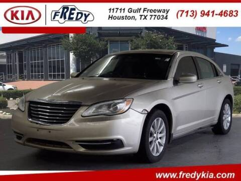 2014 Chrysler 200 for sale at FREDYS CARS FOR LESS in Houston TX
