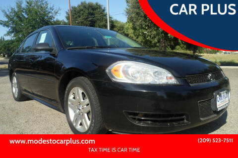 2012 Chevrolet Impala for sale at CAR PLUS in Modesto CA