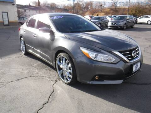 2017 Nissan Altima for sale at Platinum Auto Sales in Provo UT