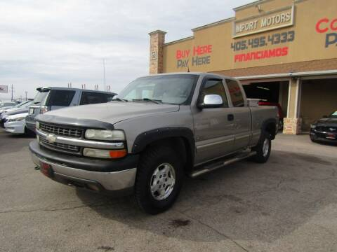 2002 Chevrolet Silverado 1500 for sale at Import Motors in Bethany OK