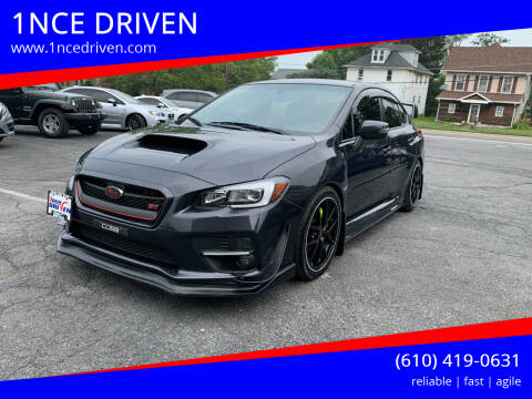 2017 Subaru WRX for sale at 1NCE DRIVEN in Easton PA