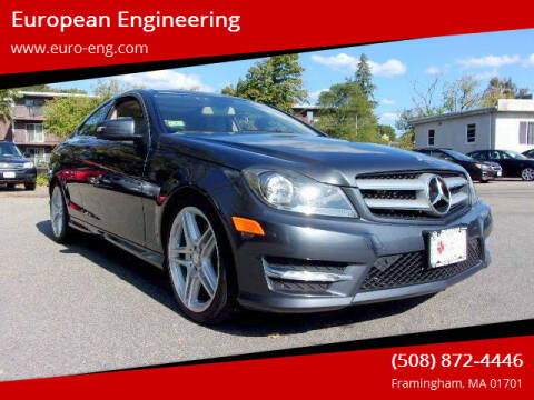 2012 Mercedes-Benz C-Class for sale at European Engineering in Framingham MA