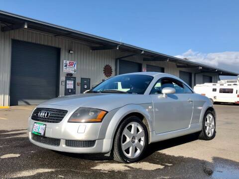 2000 Audi TT for sale at DASH AUTO SALES LLC in Salem OR