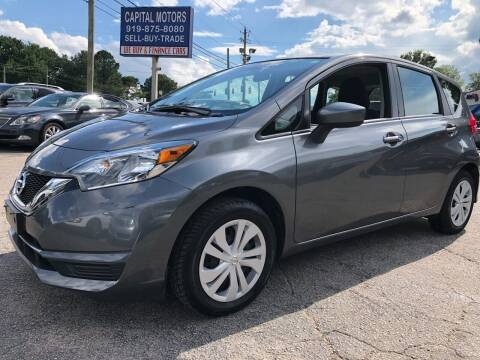 2017 Nissan Versa Note for sale at Capital Motors in Raleigh NC