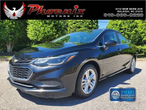 2017 Chevrolet Cruze for sale at Phoenix Motors Inc in Raleigh NC