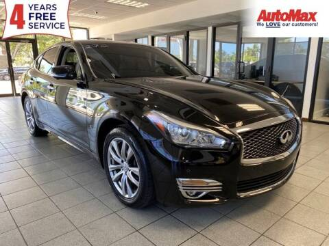 2015 Infiniti Q70 for sale at Auto Max in Hollywood FL