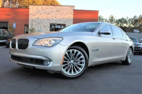 2012 BMW 7 Series for sale at Atlanta Unique Auto Sales in Norcross GA