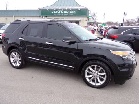 2014 Ford Explorer for sale at Jim O'Connor Select Auto in Oconomowoc WI