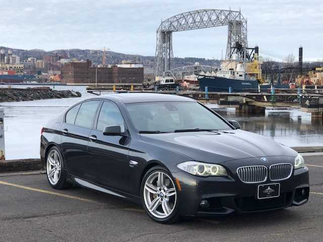 2012 BMW 5 Series for sale at LUXURY IMPORTS in Hermantown MN