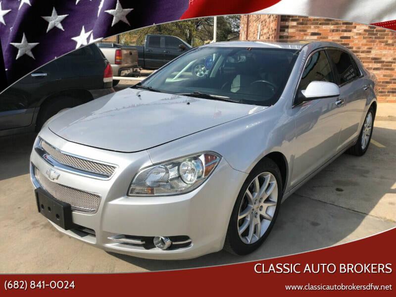 2012 Chevrolet Malibu for sale at Classic Auto Brokers in Haltom City TX