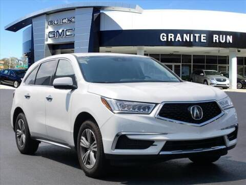 2020 Acura MDX for sale at GRANITE RUN PRE OWNED CAR AND TRUCK OUTLET in Media PA