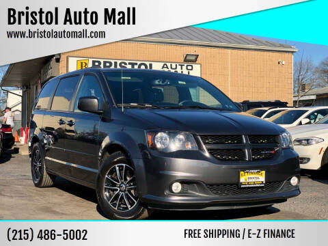 2017 Dodge Grand Caravan for sale at Bristol Auto Mall in Levittown PA
