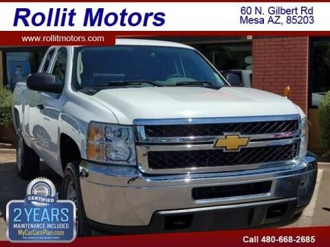 2012 Chevrolet Silverado 2500HD for sale at Rollit Motors in Mesa AZ