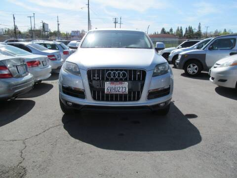 2012 Audi Q7 for sale at Dealer Finance Auto Center LLC in Sacramento CA