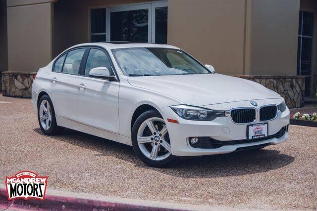 2013 BMW 3 Series for sale at Mcandrew Motors in Arlington TX