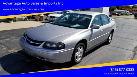 2005 Chevrolet Impala for sale at Advantage Auto Sales & Imports Inc in Loves Park IL