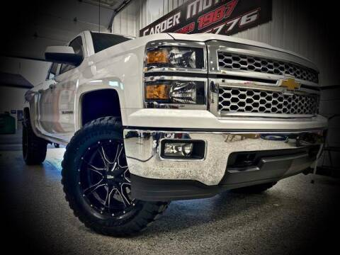 2014 Chevrolet Silverado 1500 for sale at Carder Motors Inc in Bridgeport WV