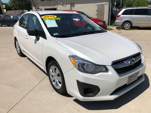 2012 Subaru Impreza for sale at Zacatecas Motors Corp in Des Moines IA