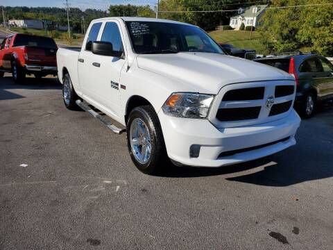 2016 RAM Ram Pickup 1500 for sale at DISCOUNT AUTO SALES in Johnson City TN