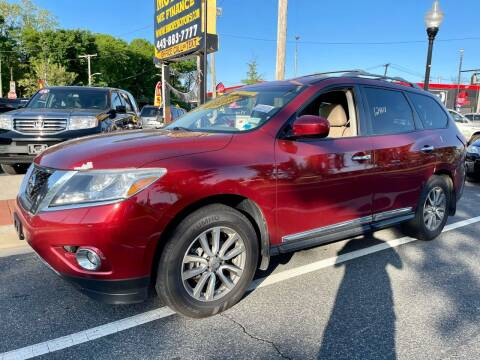 2013 Nissan Pathfinder for sale at Bmore Motors in Baltimore MD
