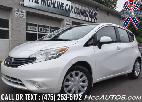 2014 Nissan Versa Note for sale at The Highline Car Connection in Waterbury CT