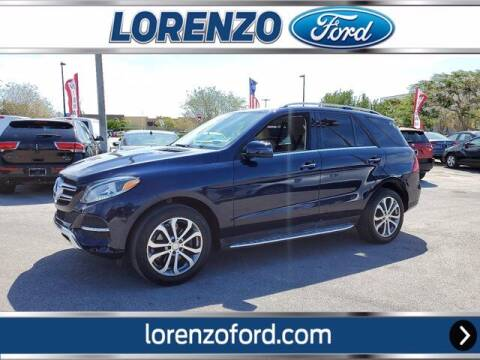2016 Mercedes-Benz GLE for sale at Lorenzo Ford in Homestead FL