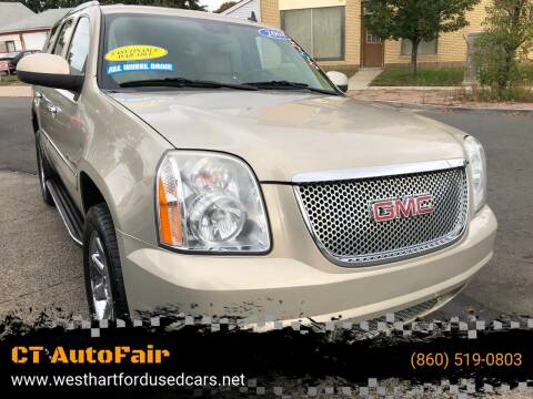 2008 GMC Yukon for sale at CT AutoFair in West Hartford CT