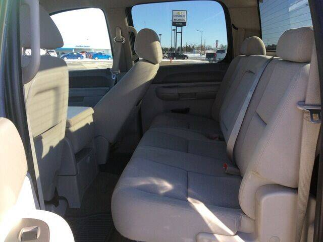 2012 Chevrolet Silverado 1500 4x4 LT 4dr Crew Cab 5.8 ft. SB - Staples MN
