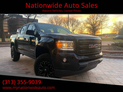 2020 GMC Canyon for sale at Nationwide Auto Sales in Melvindale MI