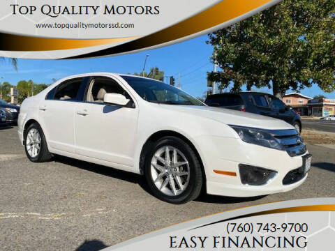 2010 Ford Fusion for sale at Top Quality Motors in Escondido CA