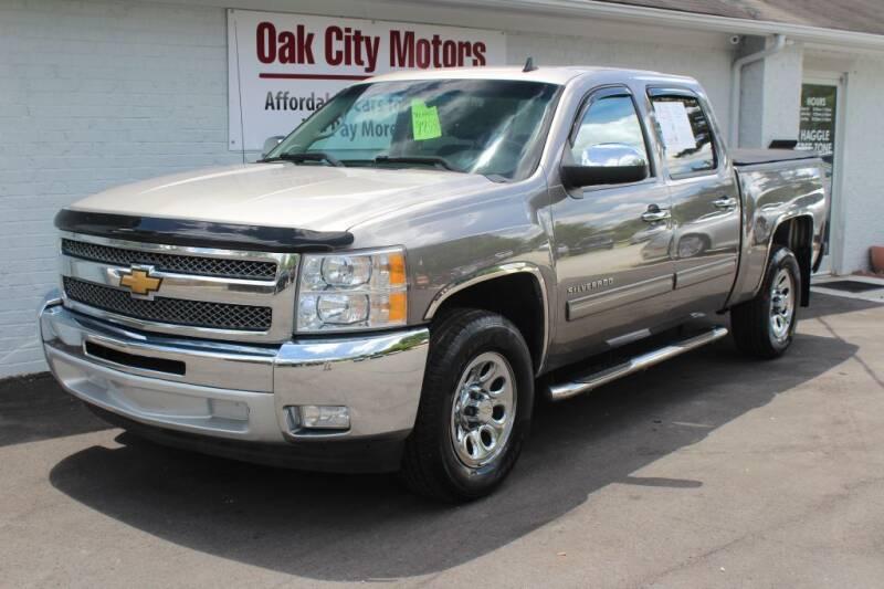 2013 Chevrolet Silverado 1500 for sale at Oak City Motors in Garner NC