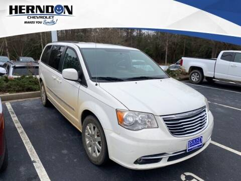 2013 Chrysler Town and Country for sale at Herndon Chevrolet in Lexington SC