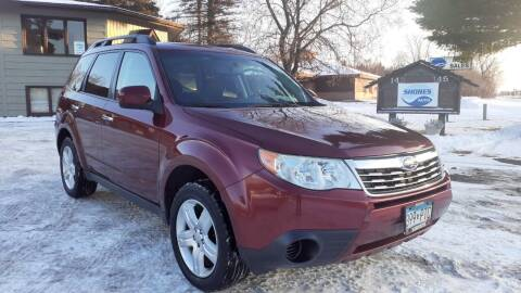 2009 Subaru Forester for sale at Shores Auto in Lakeland Shores MN