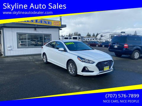 2019 Hyundai Sonata for sale at Skyline Auto Sales in Santa Rosa CA
