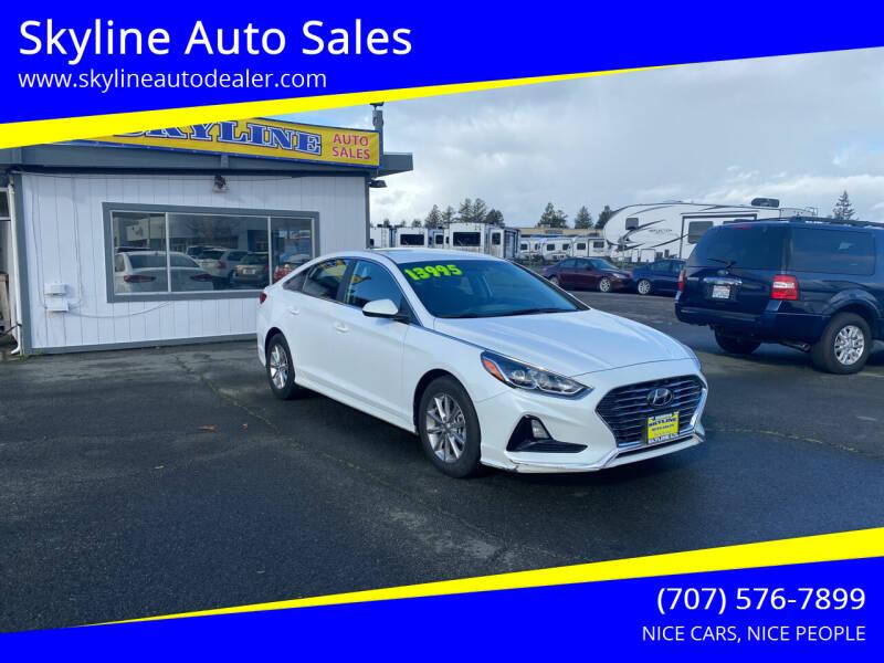 2019 Hyundai Sonata for sale at Skyline Auto Sales in Santa Rosa CA