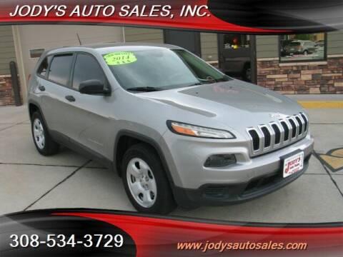 2014 Jeep Cherokee for sale at Jody's Auto Sales in North Platte NE