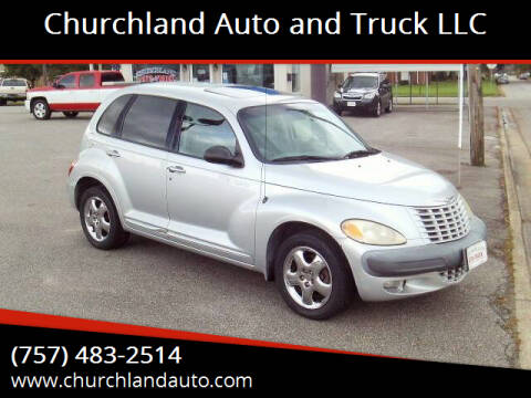 2001 Chrysler PT Cruiser for sale at Churchland Auto and Truck LLC in Portsmouth VA