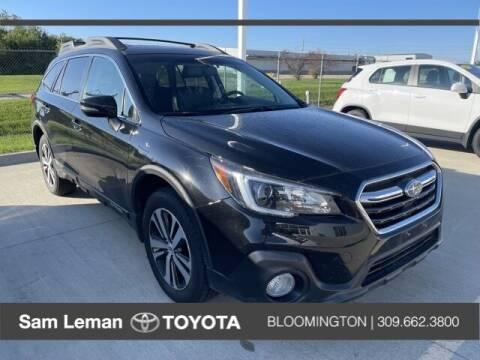 2018 Subaru Outback for sale at Sam Leman Toyota Bloomington in Bloomington IL