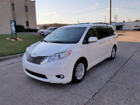 2016 Toyota Sienna for sale at Image Auto Sales in Dallas TX