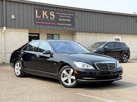 2012 Mercedes-Benz S-Class for sale at LKS Auto Sales in Fresno CA