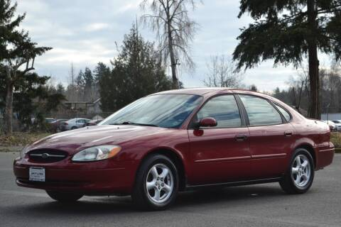 2002 Ford Taurus for sale at Skyline Motors Auto Sales in Tacoma WA