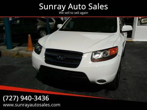 2007 Hyundai Santa Fe for sale at Sunray Auto Sales Inc. in Holiday FL